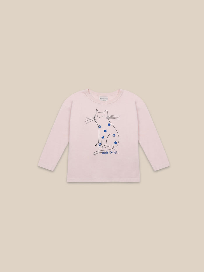 Little bobo choses boy Cat Long Sleeve T-shirt