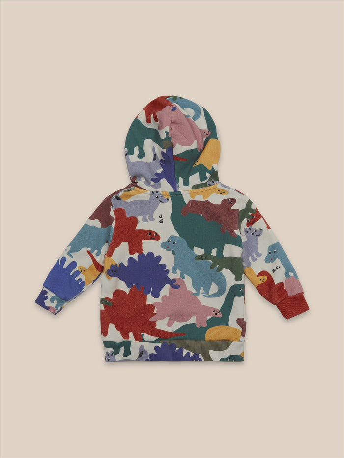 Little bobo choses baby Dinos All Over Hooded Sweatshirt