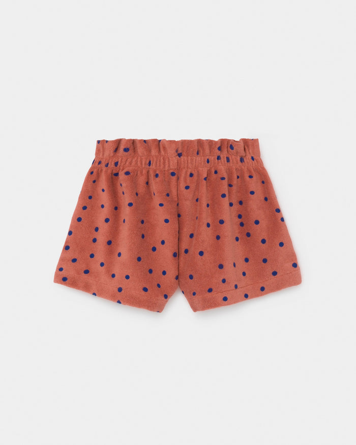 Little bobo choses girl dots terry towel shorts