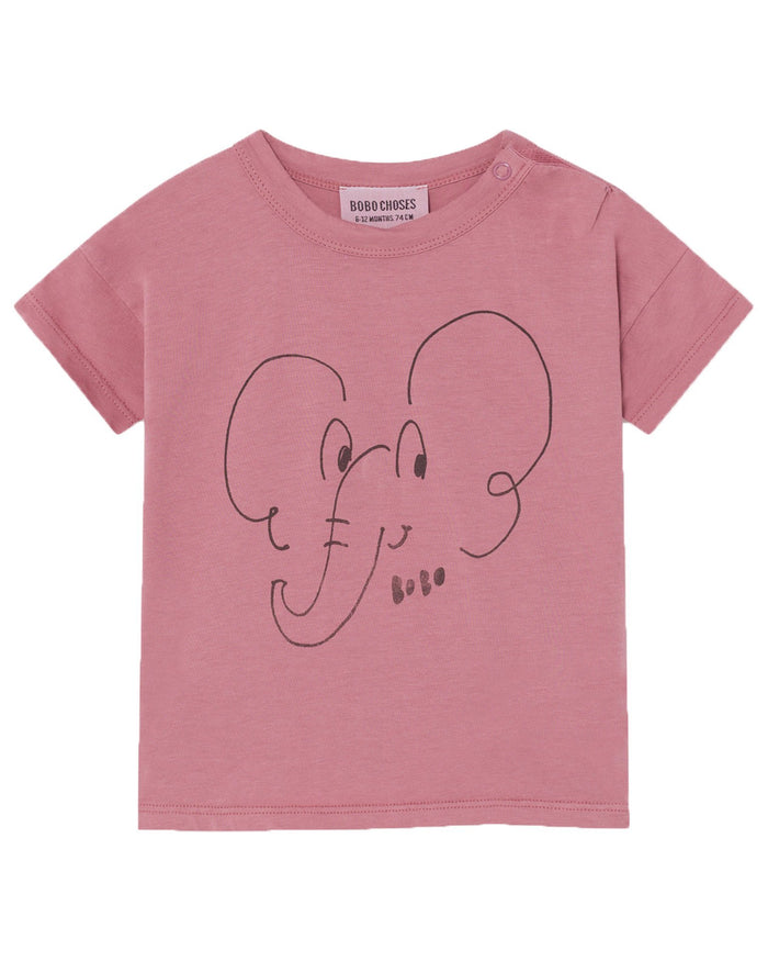 Little bobo choses baby boy elephant baby t-shirt