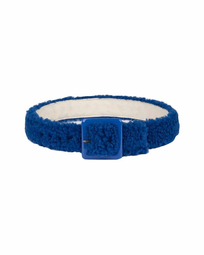 Little bobo choses accessories faux fur belt