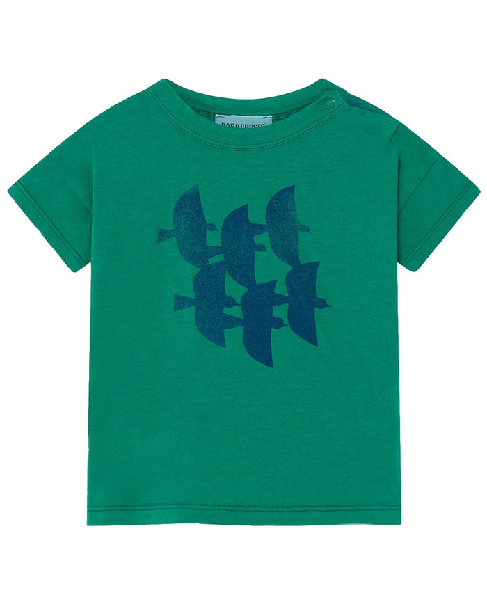 Little bobo choses baby boy flying birds baby t-shirt