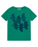 Little bobo choses boy flying birds t-shirt