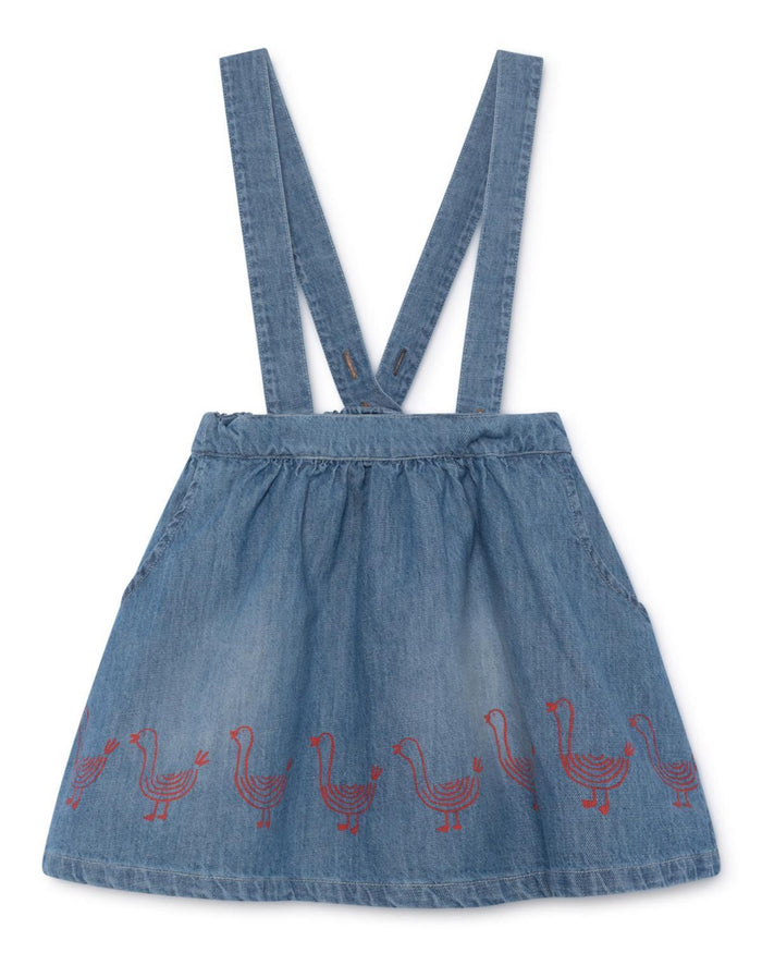 Little bobo choses girl 2-3 geese braces skirt