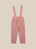 Little bobo choses boy Grid Braces Pants