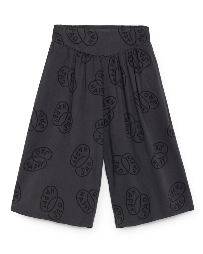 Little bobo choses girl 2-3 happy sad flared culotte