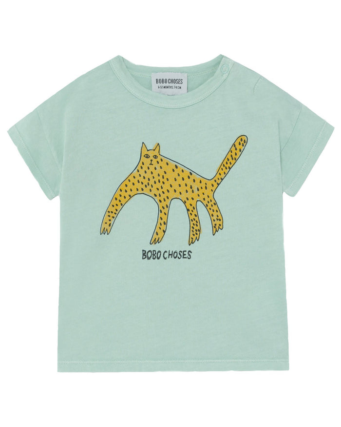 Little bobo choses baby boy leopard baby t-shirt