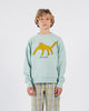 Little bobo choses boy leopard sweatshirt