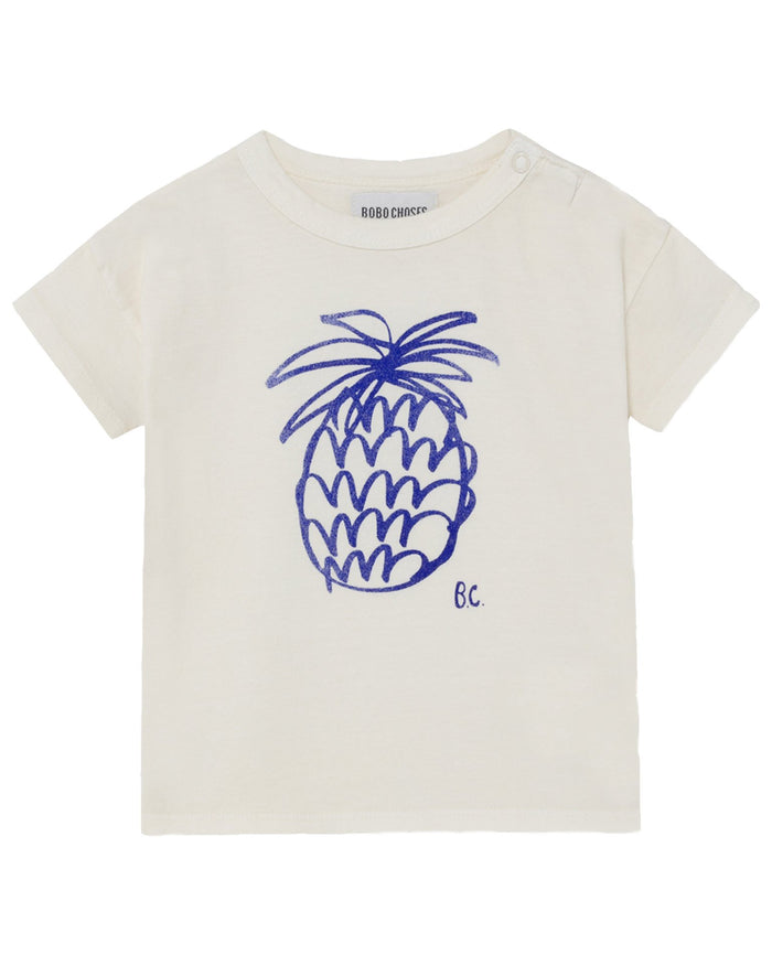 Little bobo choses baby boy pineapple baby t-shirt