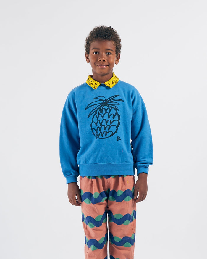 Little bobo choses boy pineapple sweatshirt