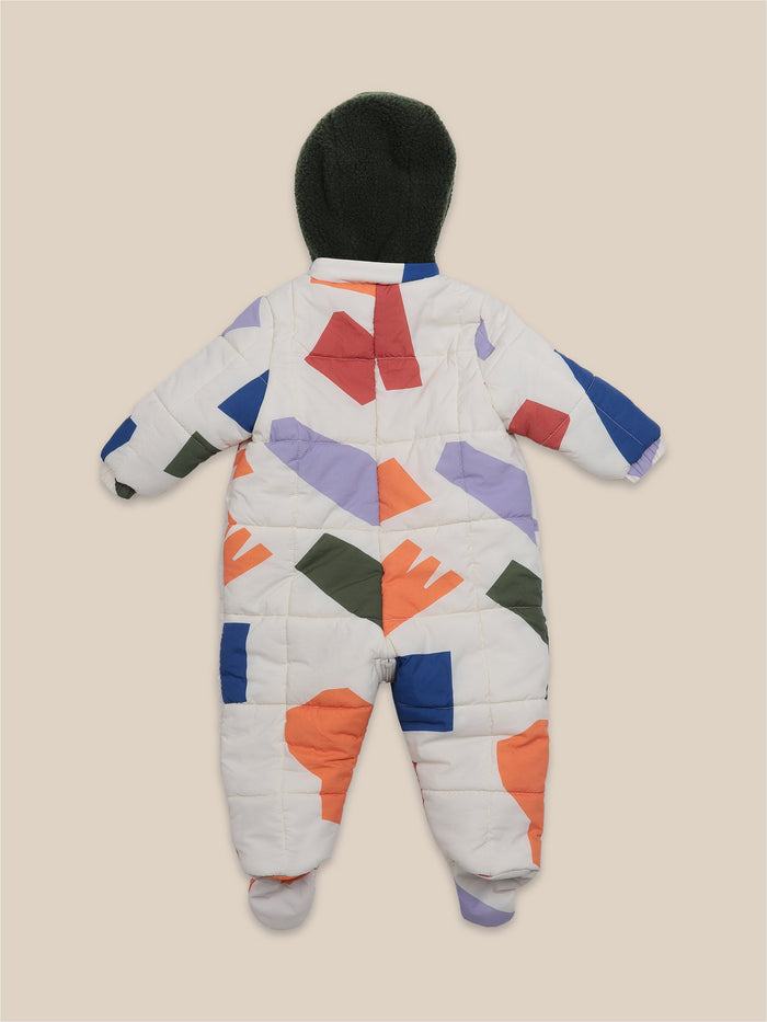 Little bobo choses baby Shadows All Over Padded Overall