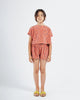 Little bobo choses girl spots terry towel cropped sweatshirt