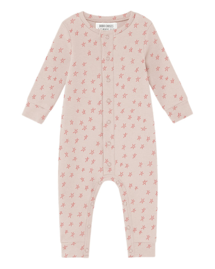 Little bobo choses baby boy stars baby jumpsuit