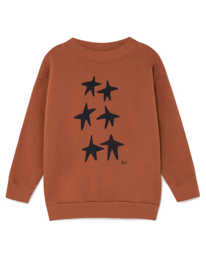 Little bobo choses boy stars sweatshirt