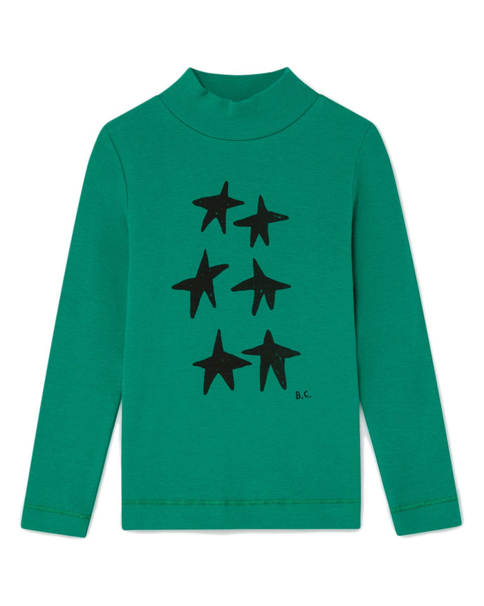 Little bobo choses boy stars turtle neck t-shirt