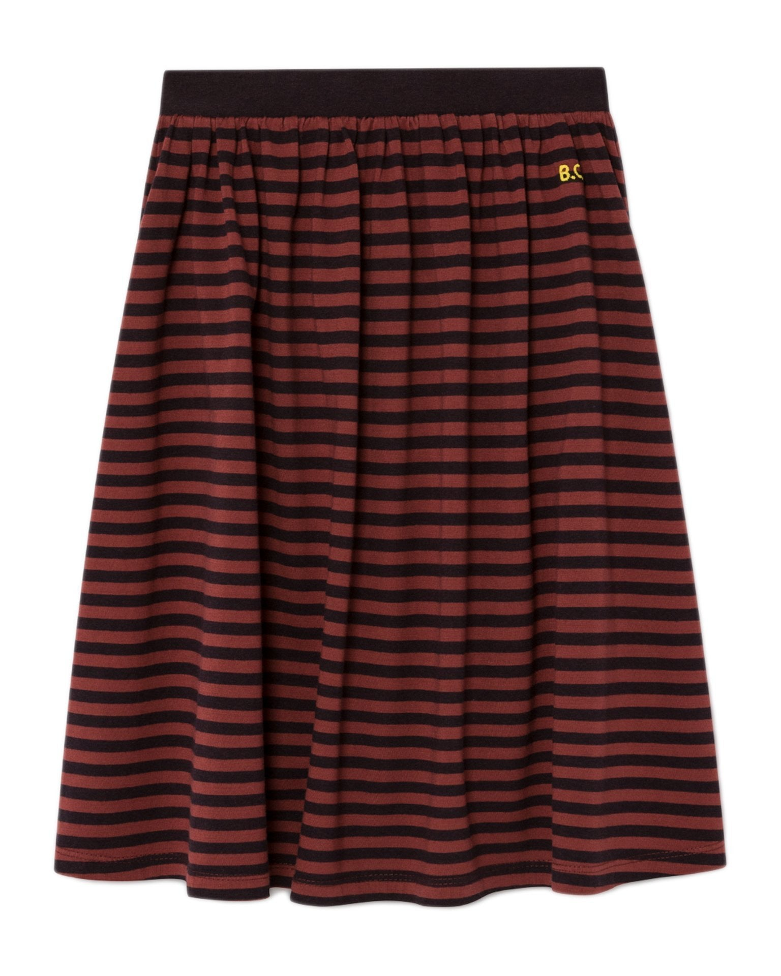 Little bobo choses girl striped midi skirt