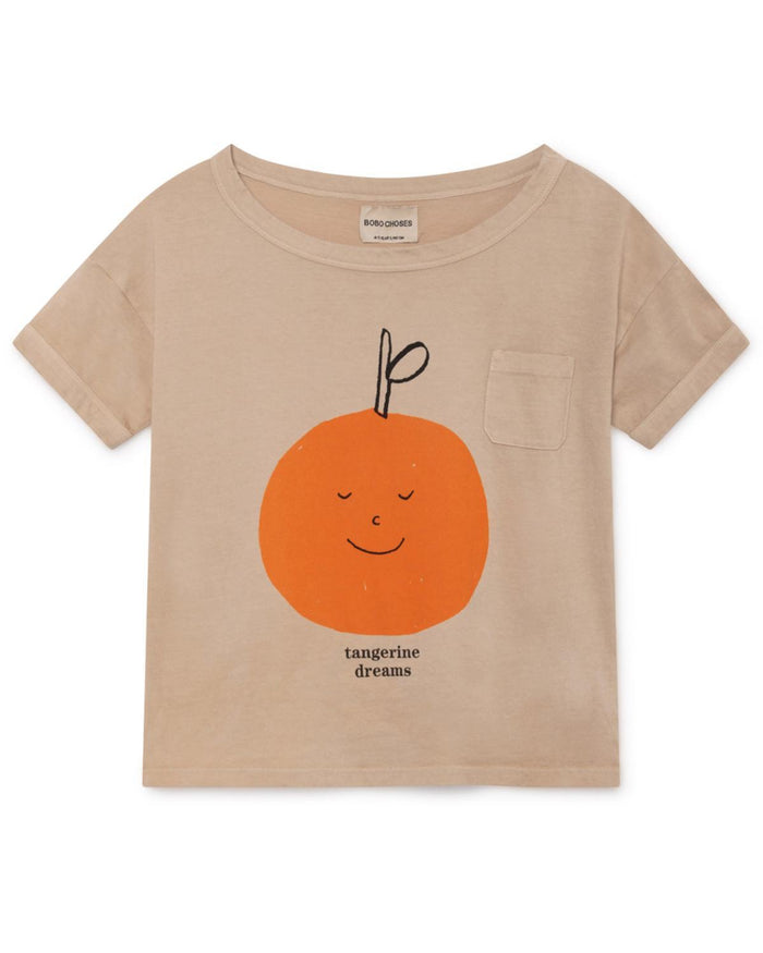 Little bobo choses girl 2-3 tangerine dreams short sleeve t-shirt