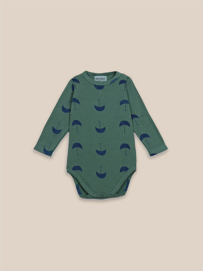 Little bobo choses baby Umbrella All Over Long Sleeve Body