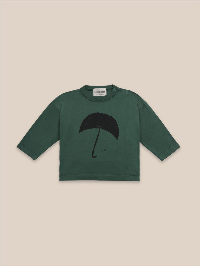 Little bobo choses baby Umbrella Long Sleeve Baby T-Shirt