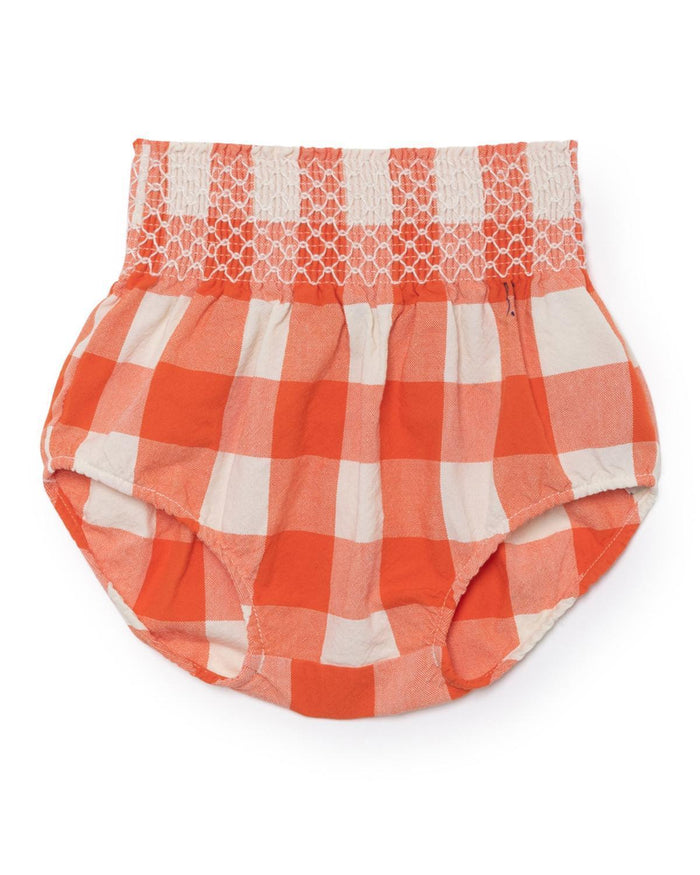 Little bobo choses baby girl 3-6 vichy baby bloomer