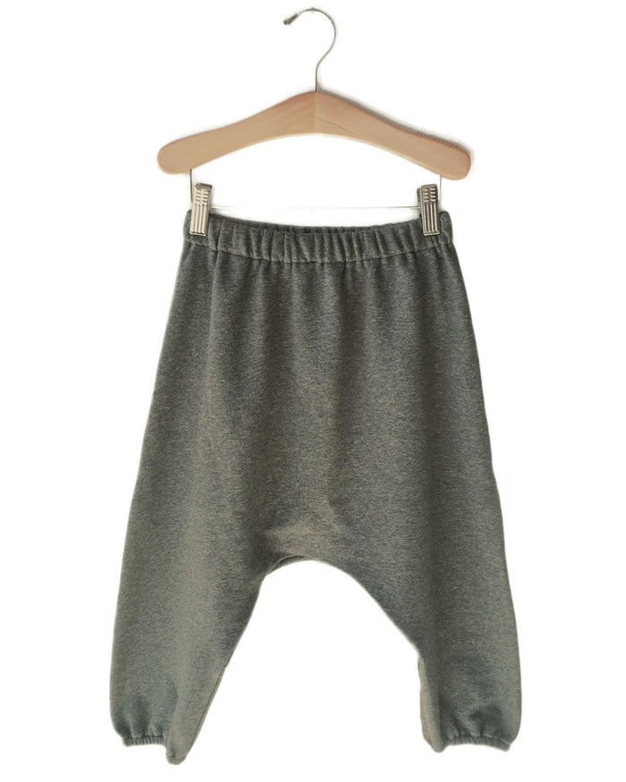 Little boy + girl boy 2 drop crotch lounge pant