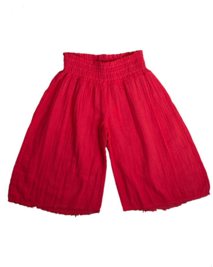 Little boy + girl girl 2 siena culotte in apple