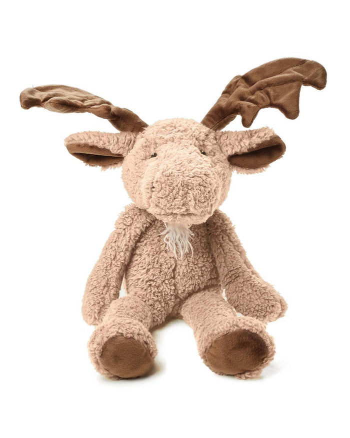 Little bunnies by the bay play Bruce the Moose