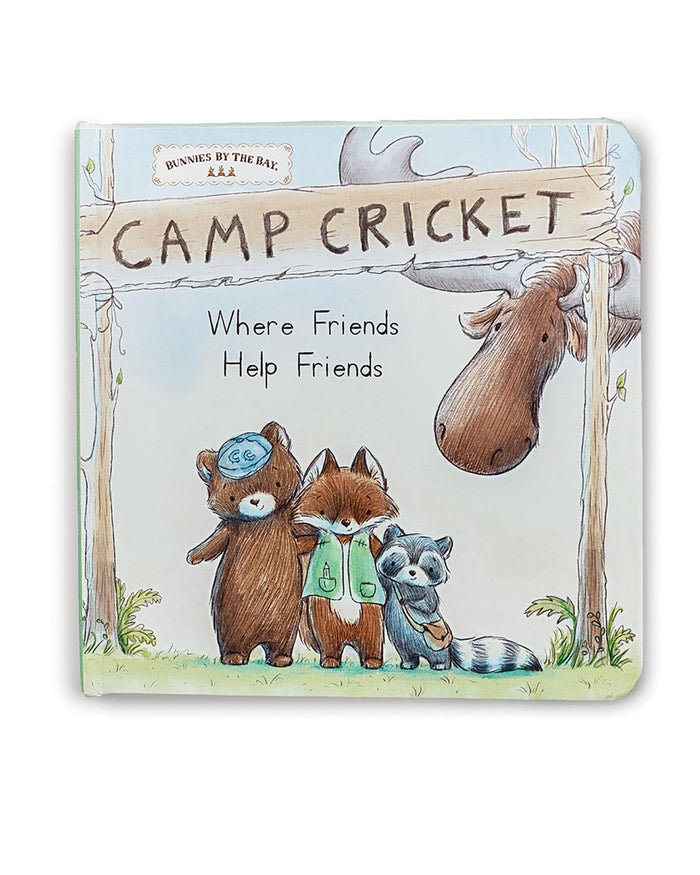 Little bunnies by the bay play Camp Cricket Board Book