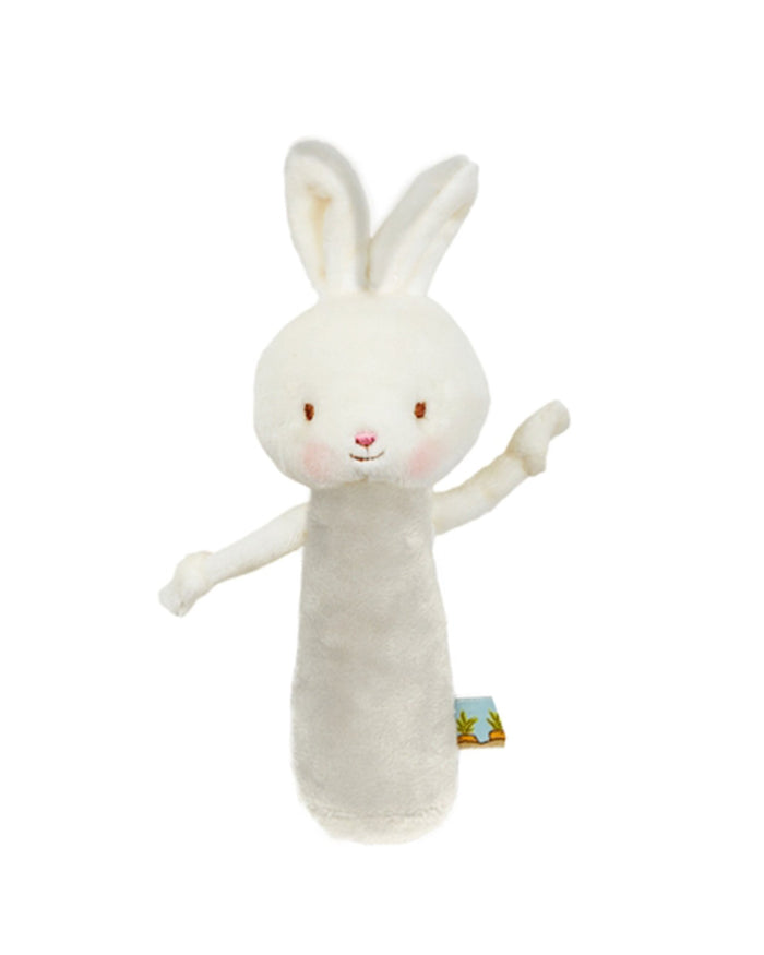 Little bunnies by the bay play friendly chime bunny in grey