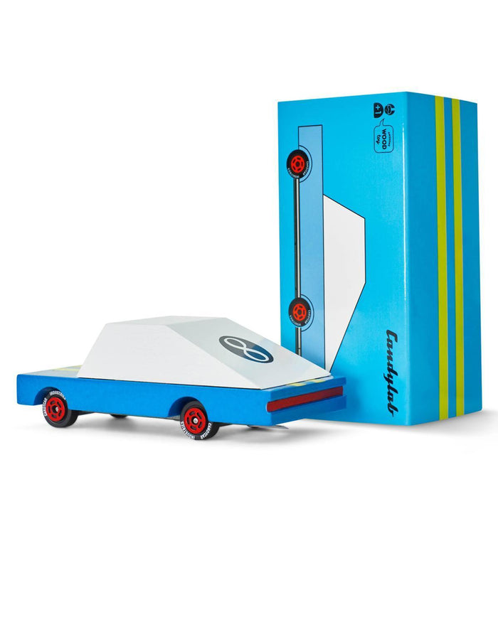 Little candylab play blue racer #8 candycar