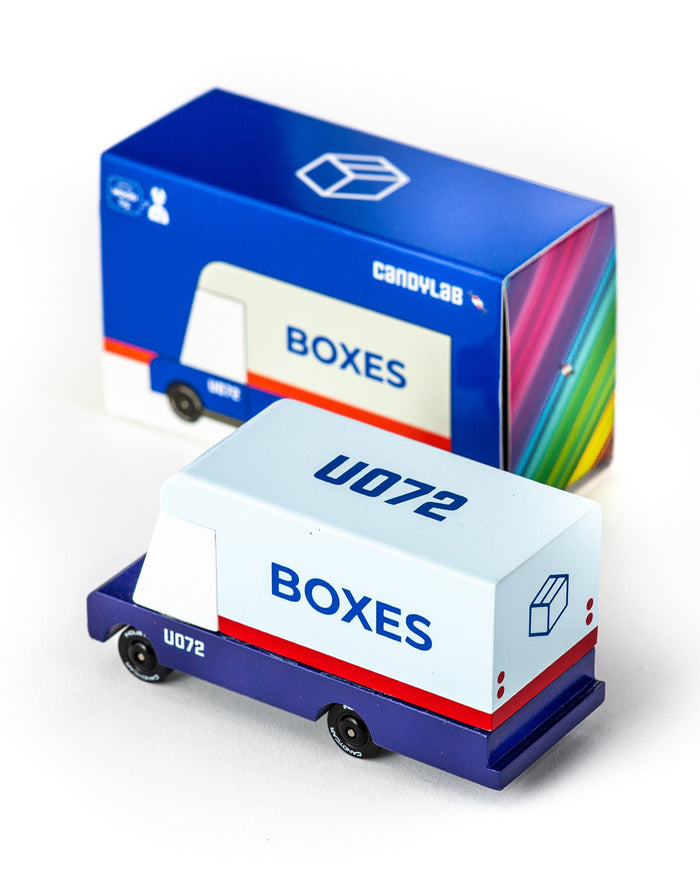 Little candylab play boxes mail truck candyvan