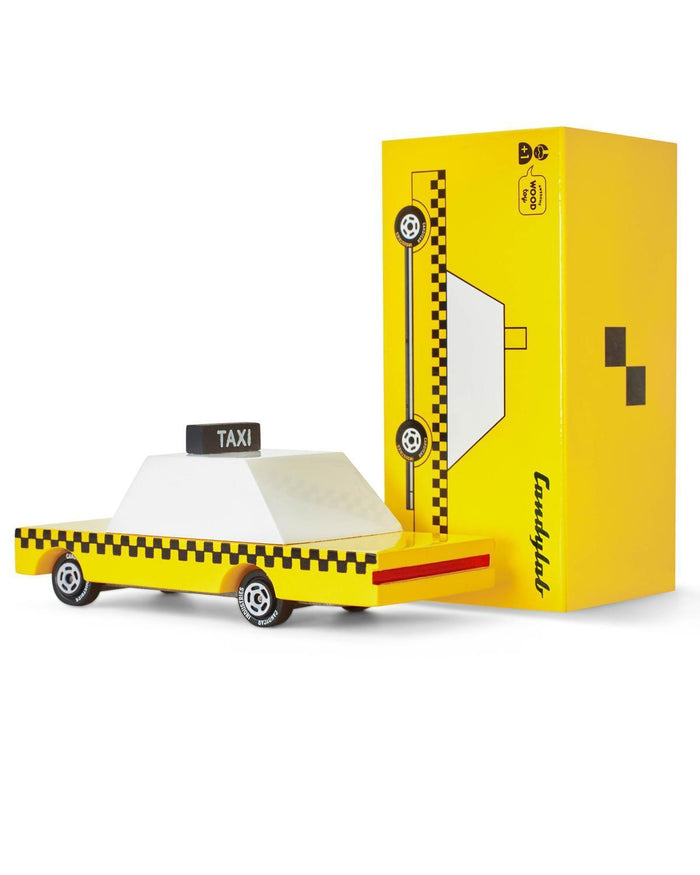 Little candylab play yellow taxi candycar