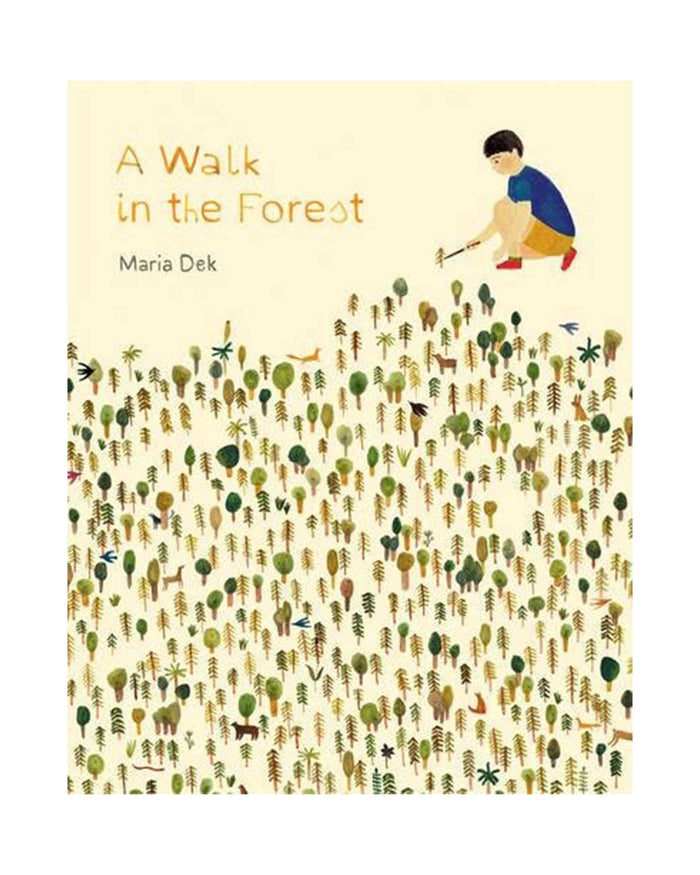 Little chronicle books play a walk in the forest