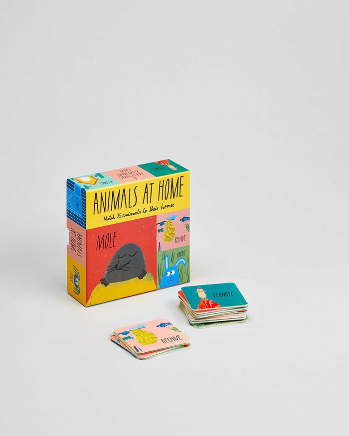Little chronicle books play animals at home: a matching game