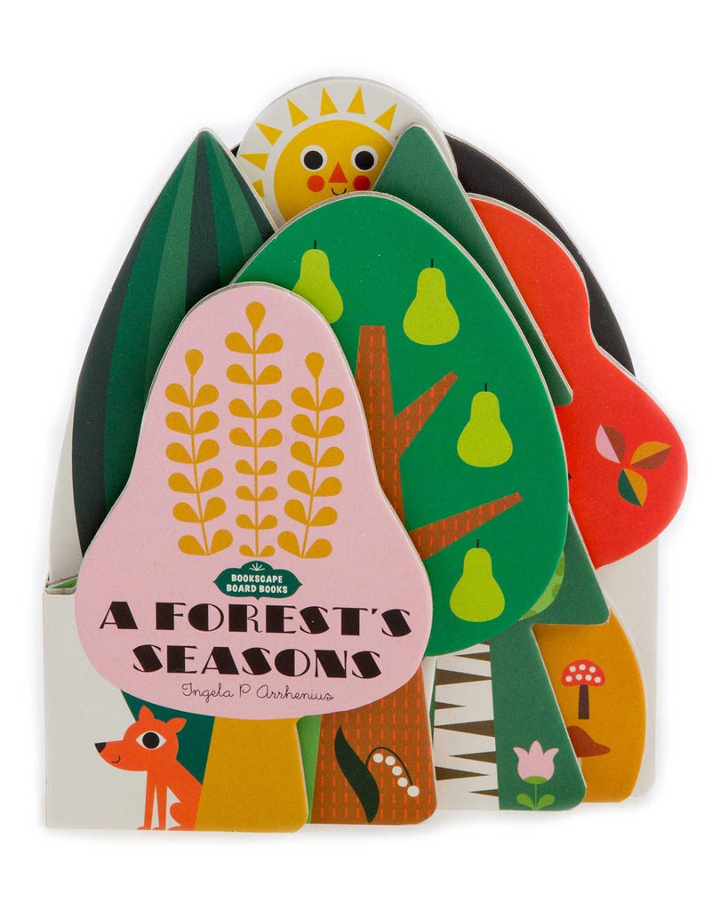 Little chronicle books play bookscape board books: a forest's seasons