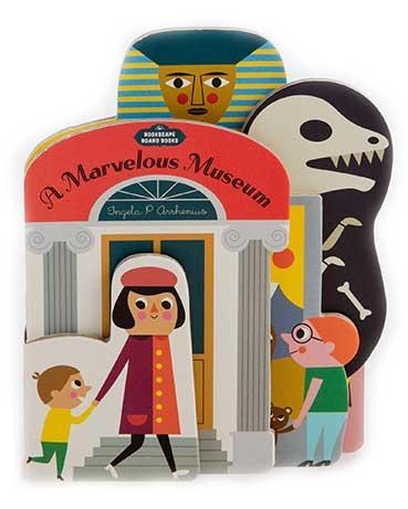 Little chronicle books play bookscape board books: a marvelous museum
