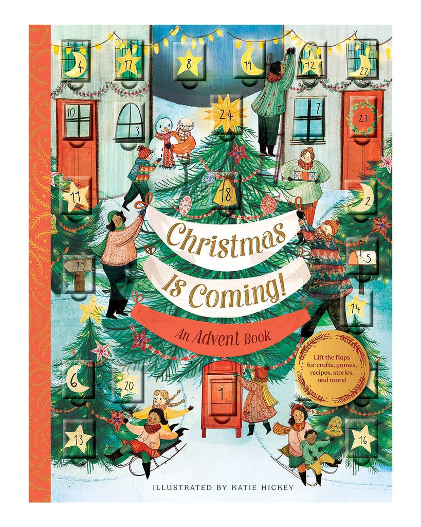 Little chronicle books play christmas is coming! an advent book