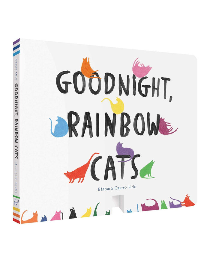 Little chronicle books play goodnight, rainbow cats
