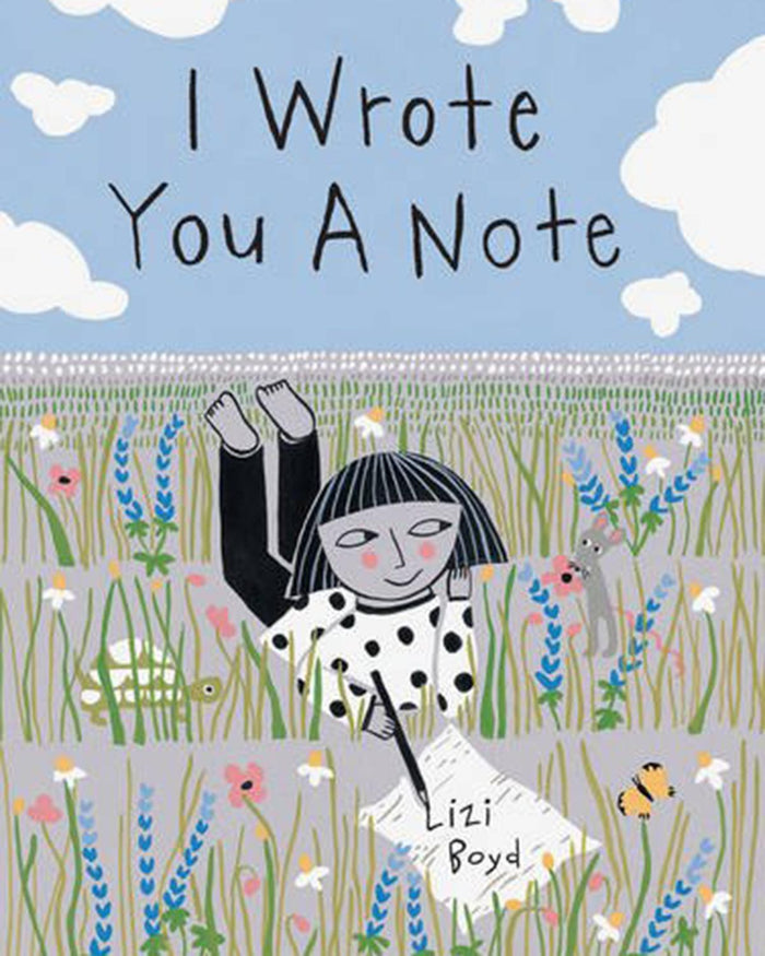 Little chronicle books play I Wrote You A Note