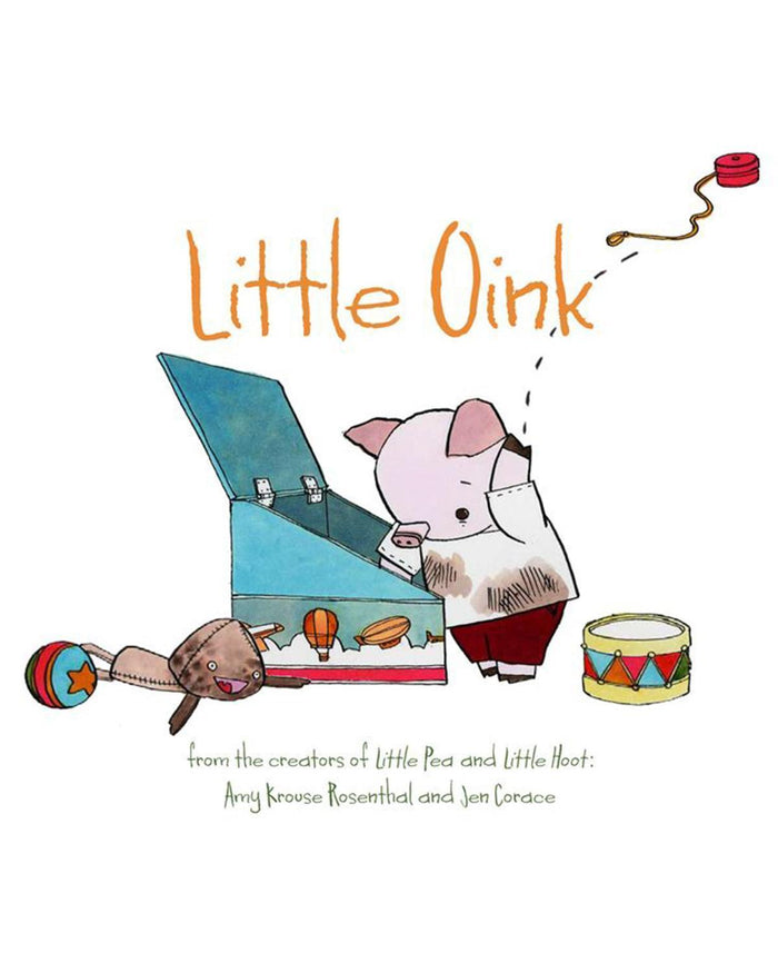 Little chronicle books play Little Oink