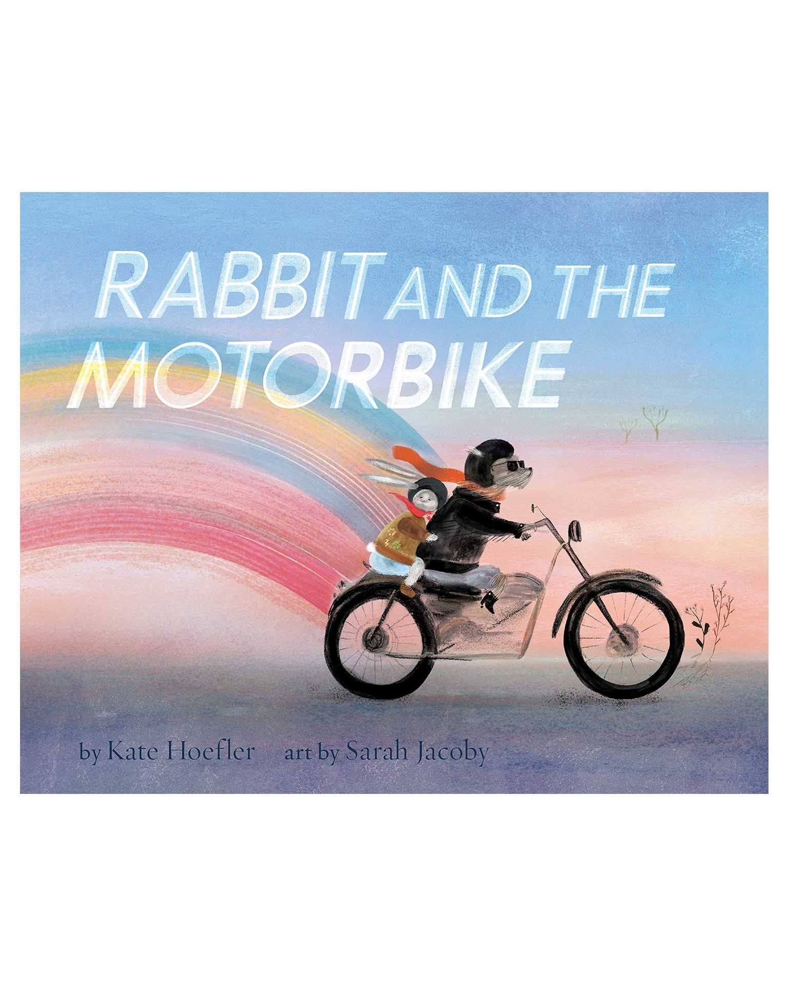 Little chronicle books play rabbit + the motorbike