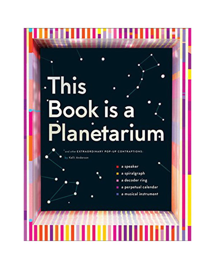 Little chronicle books play This Book is a Planetarium