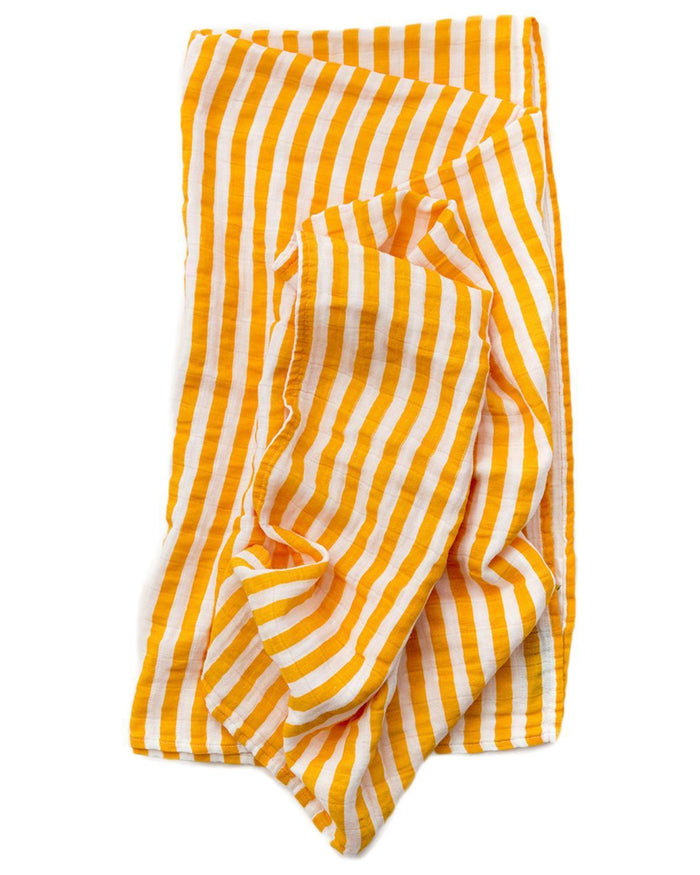 Little clementine kids baby accessories Citrus Stripe Swaddle