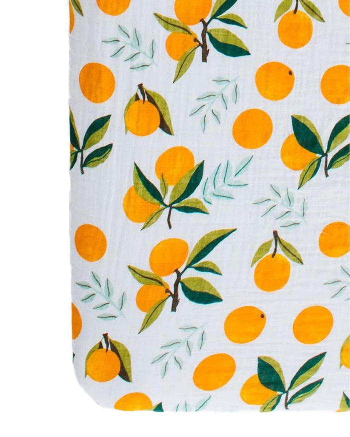 Little clementine kids room clementine crib sheet