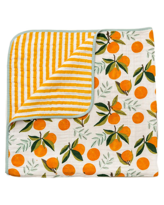 Little clementine kids room Clementine Reversible Quilt
