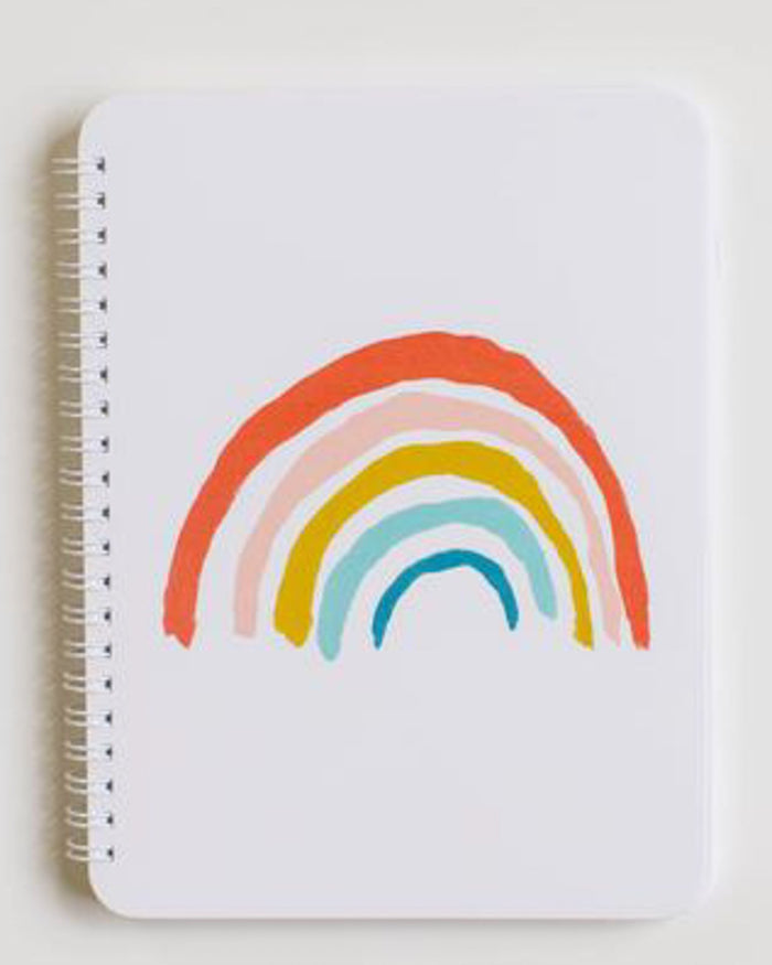 Little clementine kids paper+party rainbow notebook