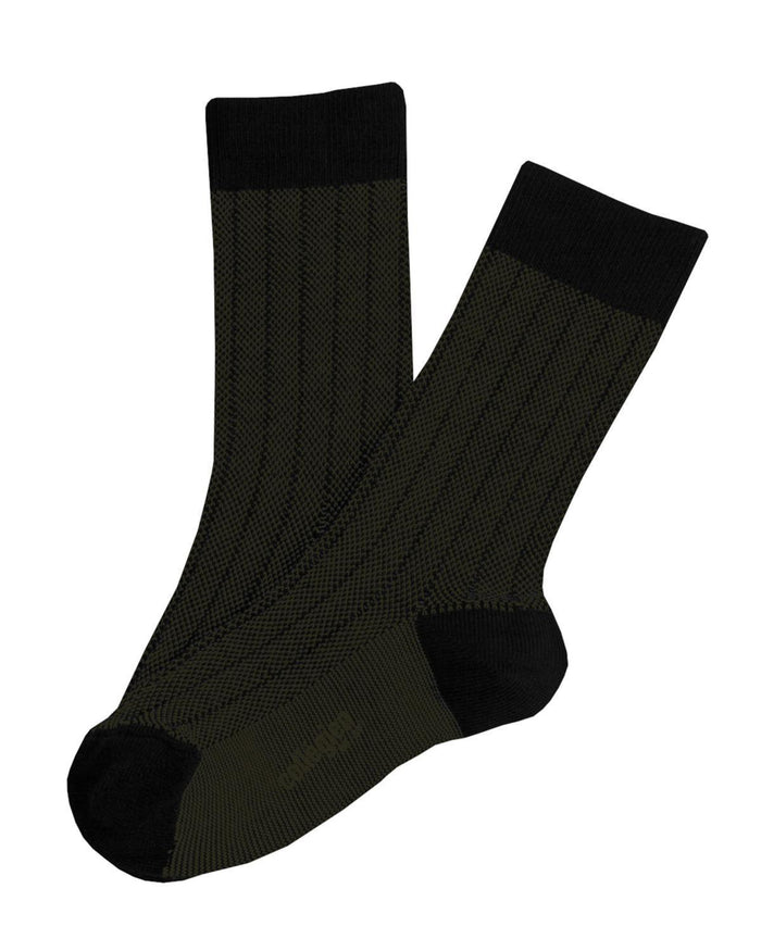 Little collegien accessories 18/20 two tone ankle socks in mon general