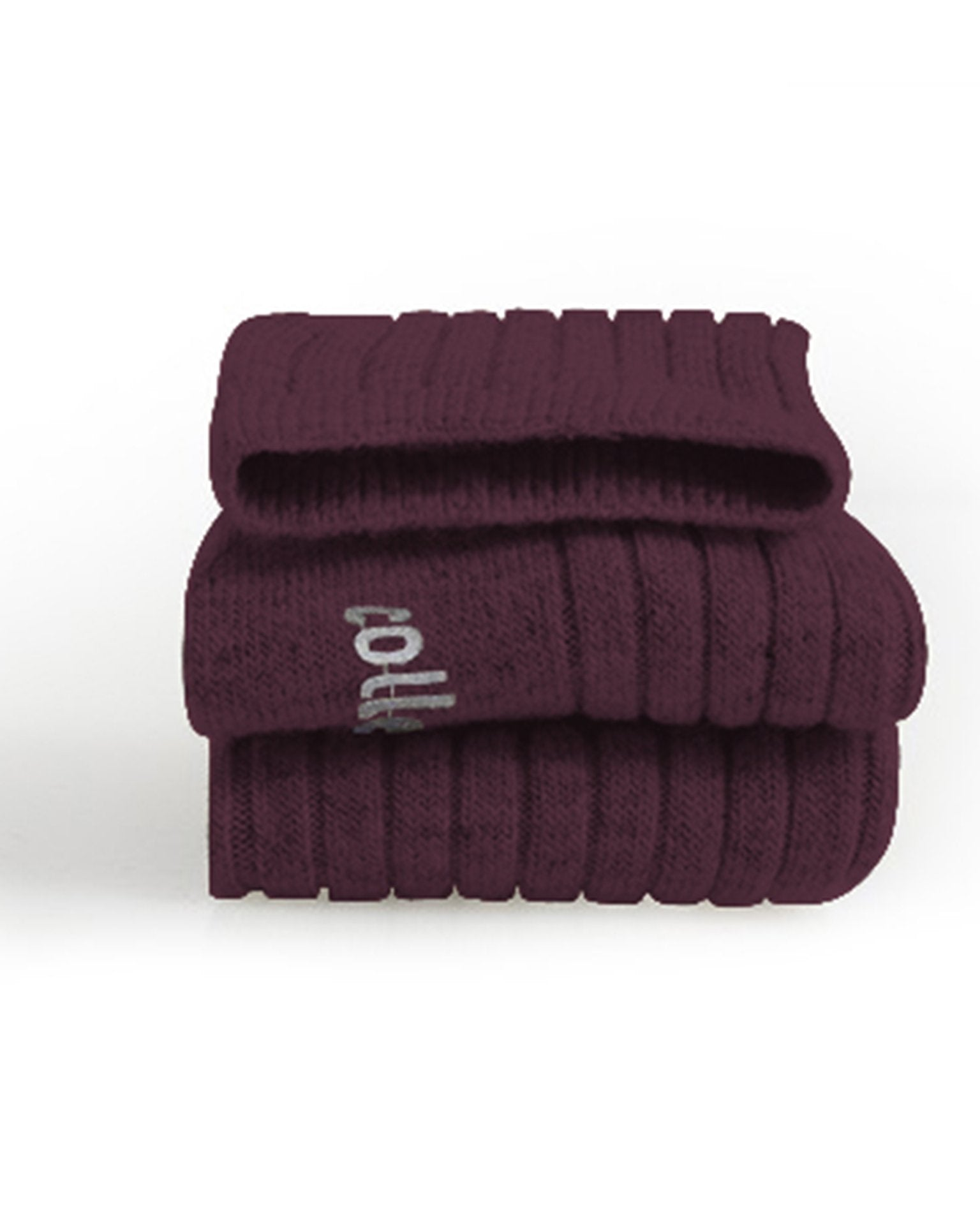 Little collegien accessories wool + cashmere socks in raisin