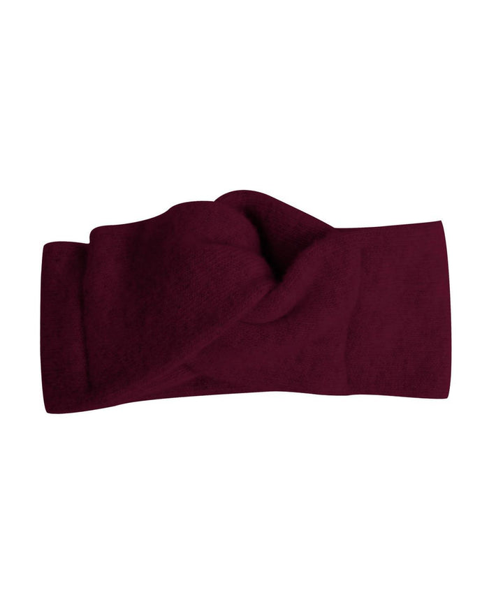 Little collegien accessories wool + cashmere turban in madere