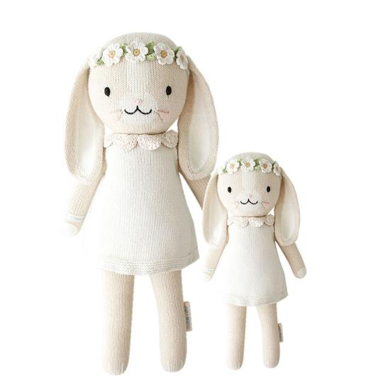 Little cuddle + kind play hannah the bunny in ivory